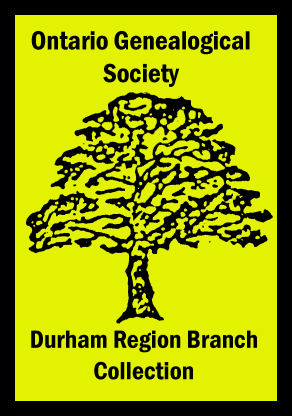 Durham Region Branch Collection Book Sticker
