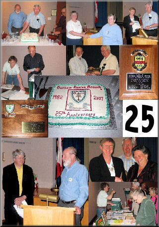 25th Anniversary collage