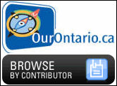 OurOntario dot CA link to browse by contributor
